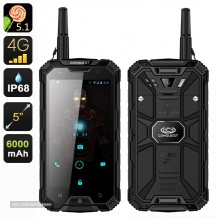 Conquest S8 Pro Military Grade Rugged 4G IP68 Smartphone 3 GB Ram 32GB Rom Works on all UK & EU Networks