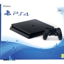 Sony Playstation 4 Slim 500GB Black Games Console + Controller