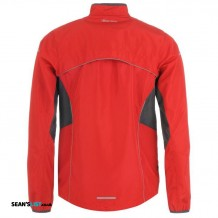 Running Jacket Red M Back