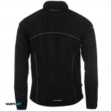 Running Jacket Rear Black Small