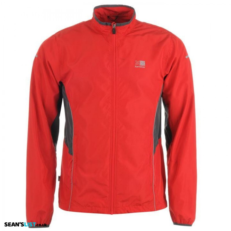 Waterproof, Breathable Running Jacket - RED